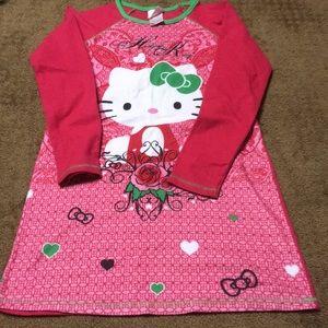 🥳HPGirls szLarge Hello Kitty-Sanrio nightgown